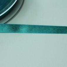 Glitzer-Satinband 10mm türkis
