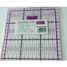 Patchwork Lineal 60 x 15 cm purple