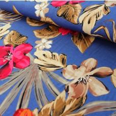 Viskosejersey Blüten