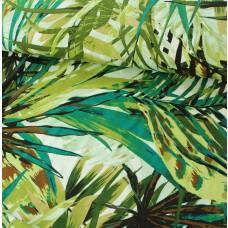 Viskosejersey Blätter grün