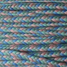 Flechtkordel altblau-grau