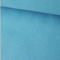 Baumwoll-Fleece Cassy hellblau