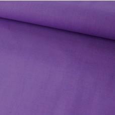 Baumwoll Webstoff Uni Lila