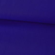 Baumwoll Webstoff Uni Blau