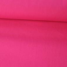 Baumwoll Webstoff Uni pink