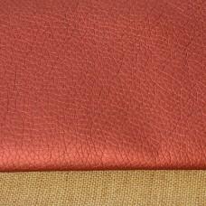 Lederimitat metallic rot 70 x 50 cm