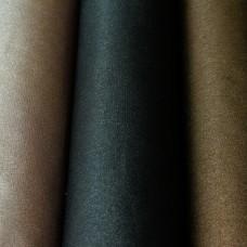 Baumwolle beschichtet Glitzer schwarz 50 x 75 cm Stück