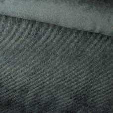 Feincord Jersey grau
