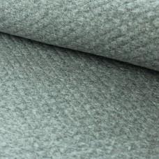 Waffelsweat grau meliert