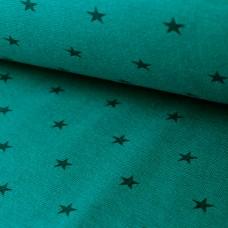 Bündchen Sterne petrol