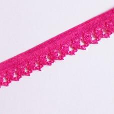 Rüschengummi 18 mm pink