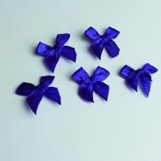 5 Schleifchen royalblau