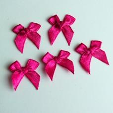 5 Schleifchen pink
