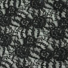 Elastische Spitze schwarz