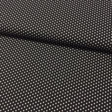 Ministerne weiß auf schwarz Baumwoll Webstoff