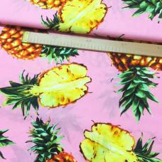 Ananas Baumwoll Webstoff
