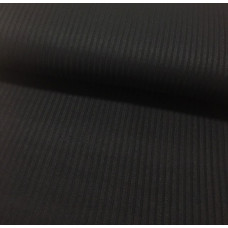 Viskose Rippstrick schwarz