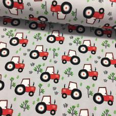 Traktor rot Stretchjersey