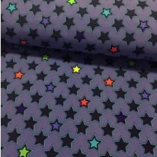Softshell Sterne blau