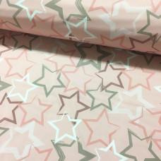 Softshell Sterne rosa