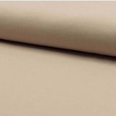 Stretchjersey Beige 75 cm Reststück