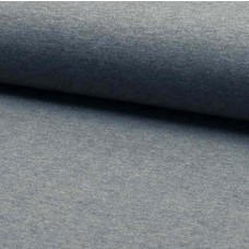 Stretchjersey grau meliert