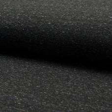 Kuschelsweat schwarz meliert