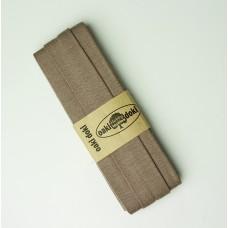 3 m Jersey Schrägband beige