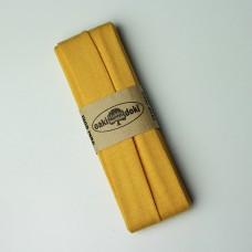 3 m Jersey Schrägband gelb