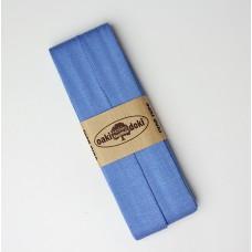 3 m Jersey Schrägband himmelblau