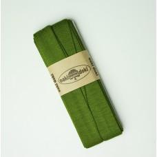 3 m Jersey Schrägband olivgrün