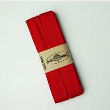3 m Jersey Schrägband rot