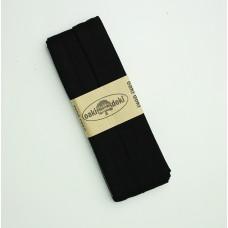 3 m Jersey Schrägband schwarz