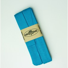 3 m Jersey Schrägband türkis