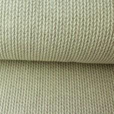 Big Knit Knit GLAM Jacquard-Jersey creme