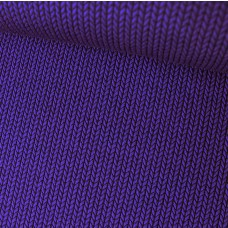 Jacquard-Jersey Knit Knit lila