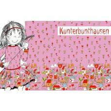Kunterbunthausen Bio-Jersey Panel Lillestoff