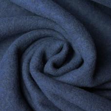 Merinoflausch blau 60 cm Reststück