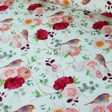 Roses and Birds Jersey