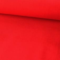 Baumwoll Webstoff Uni Rot