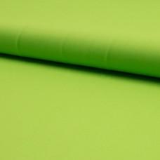 Baumwoll Webstoff Uni apfelgrün