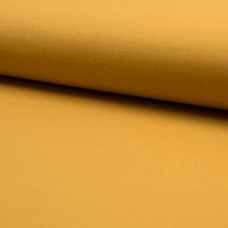 Sommersweat ocker/senf 30 cm Reststück