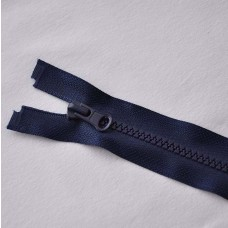 Reißverschluß teilbar 75 cm dunkelblau
