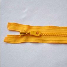 Reißverschluß teilbar 30 cm gelb