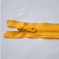 Reißverschluß teilbar 75 cm gelb
