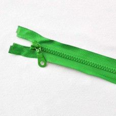 Reißverschluß teilbar 75 cm grün