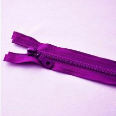 Reißverschluß teilbar 90 cm lila