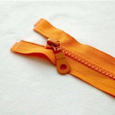 Reißverschluß teilbar 75 cm orange