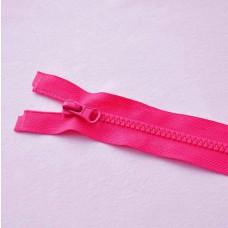 Reißverschluß teilbar 90 cm pink