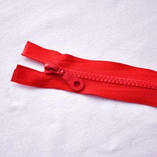 Reißverschluß teilbar 45 cm rot